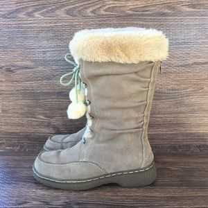 Bare Traps Suede Winter Boots